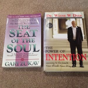 Other - The Seat of the Soul & Power of Intention 2 Books